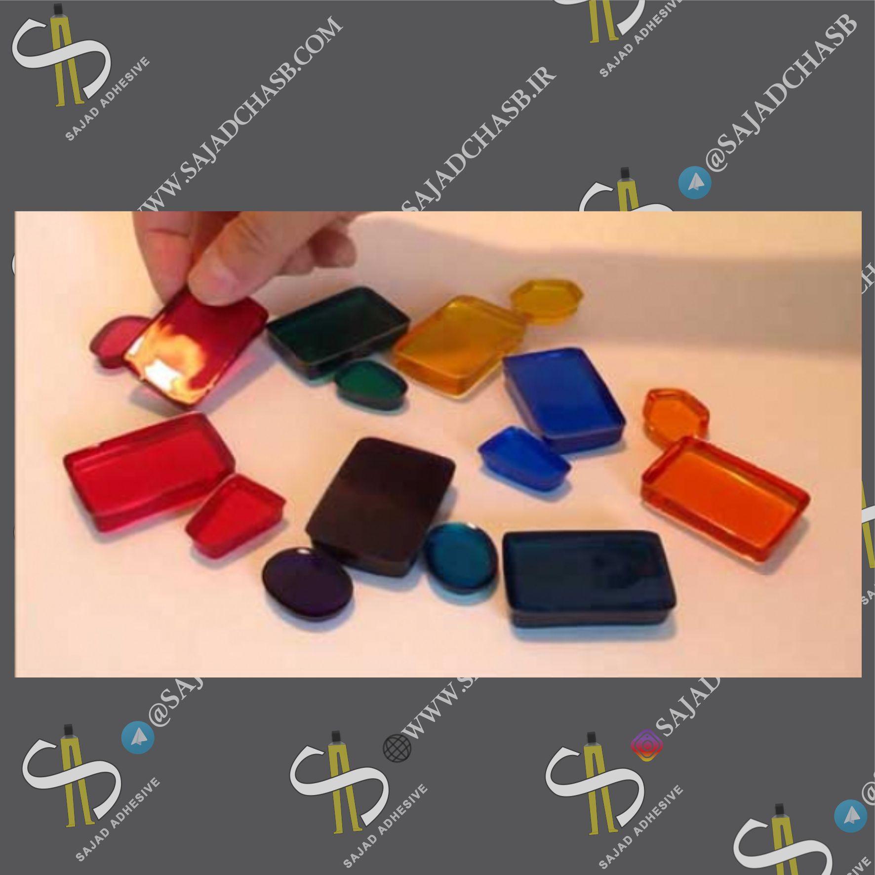 رزین اپوکسی رنگی EPOXYRESIN