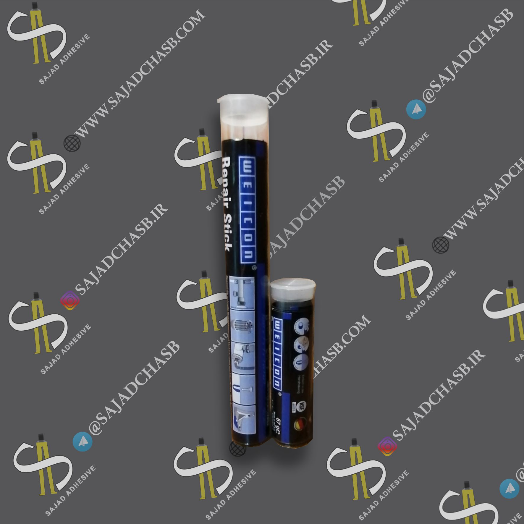 خمیر ترمیمی چدن WEICON Repair Stick