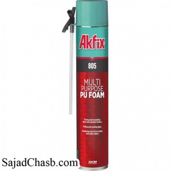 اسپری فوم پلی اورتان آکفیکس AKFIX PU FOAM