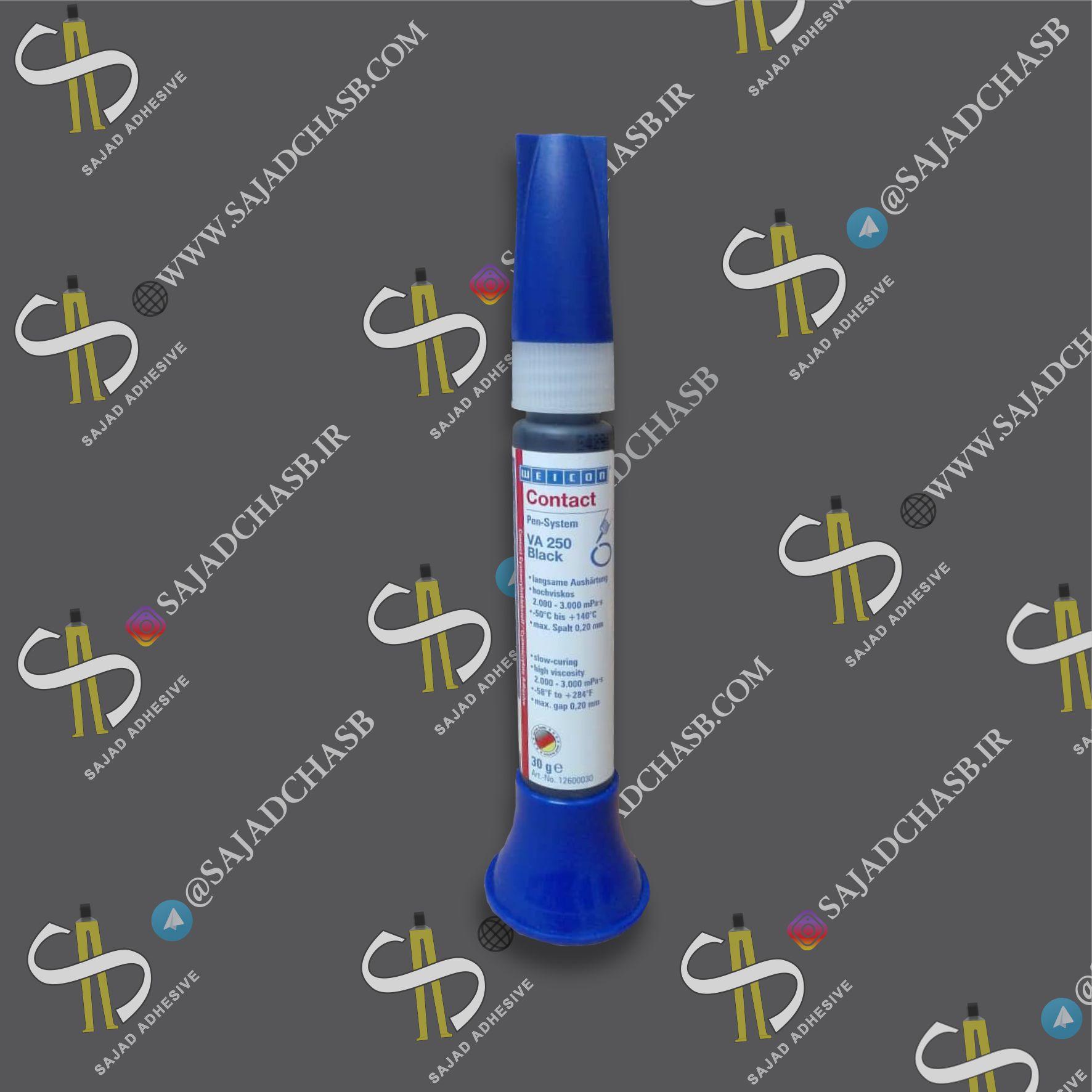 چسب قطره ای صنعتی ویکون WEICON VA 8312