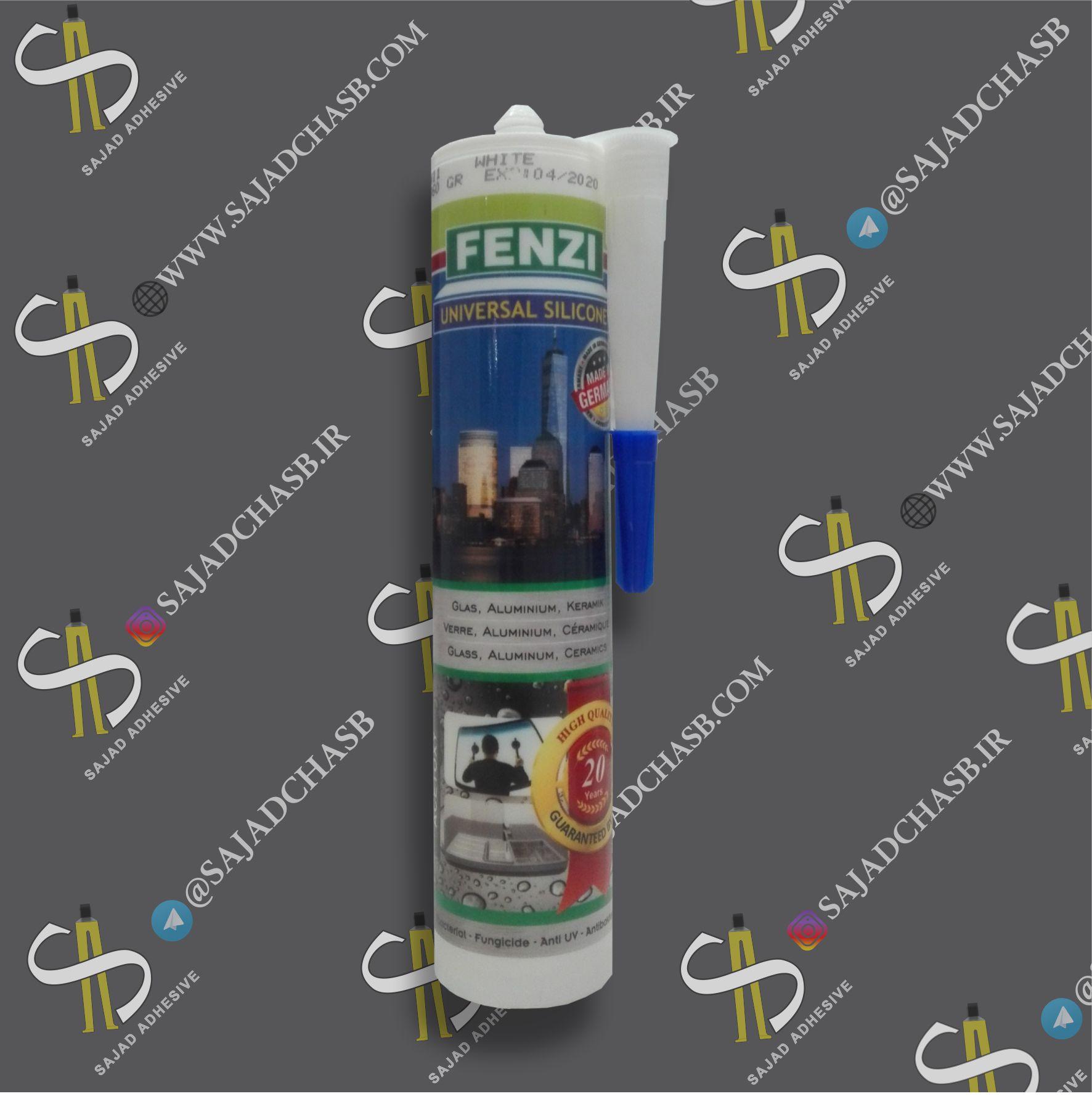 سیلیکون (چسب آکواریوم ) آلمانی FENZI