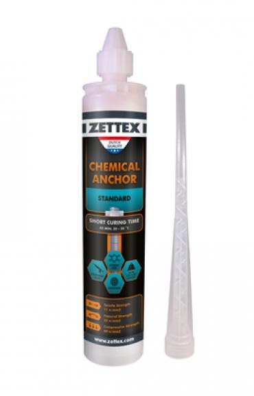 چسب کاشت میلگرد زتکس ZETTEX CHEMICAL ANKHOR