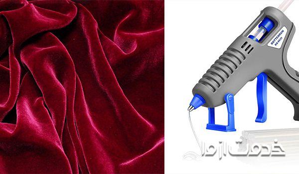 پاک کردن چسب حرارتی از روی لباس